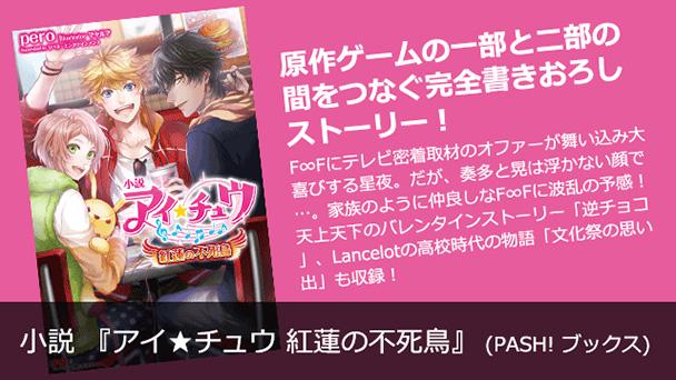 小説 『アイ★チュウ 紅蓮の不死鳥』 (PASH! ブックス)